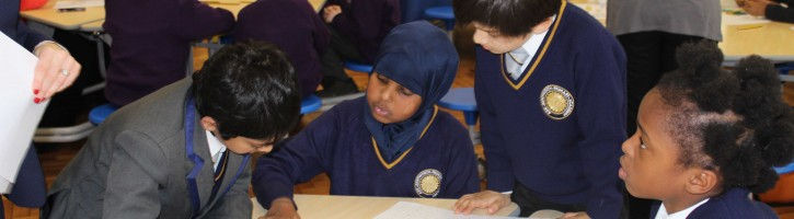 Pupils at Bentworth Primary Acacdemy